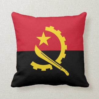 Patriotic Angolan Flag Cushion