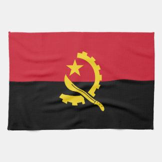 Patriotic Angolan Flag Tea Towel