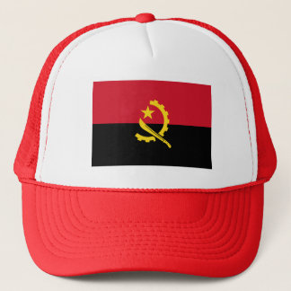 Patriotic Angolan Flag Trucker Hat