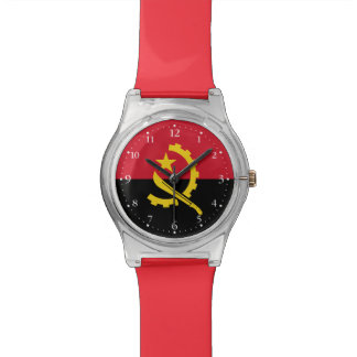 Patriotic Angolan Flag Watch
