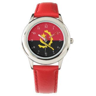 Patriotic Angolan Flag Watch