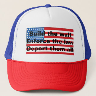 Patriotic anti-Illegal alien hat