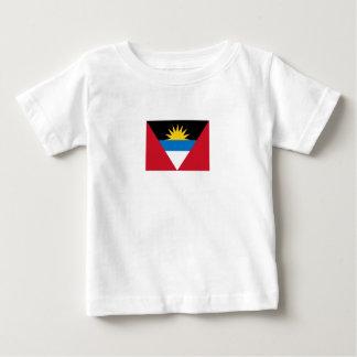 Patriotic Antigua and Barbuda Flag Baby T-Shirt