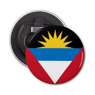 Patriotic Antigua and Barbuda Flag Bottle Opener