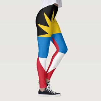 Patriotic Antigua and Barbuda Flag Leggings