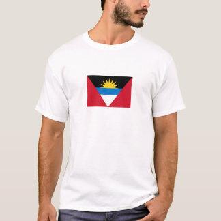Patriotic Antigua and Barbuda Flag T-Shirt