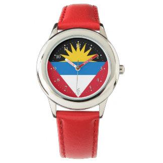 Patriotic Antigua and Barbuda Flag Watch
