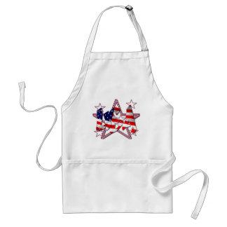 patriotic aprons