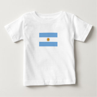 Patriotic Argentinian Flag Baby T-Shirt