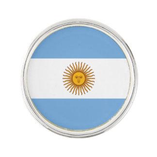 Patriotic Argentinian Flag Lapel Pin