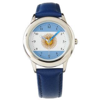 Patriotic Argentinian Flag Watch