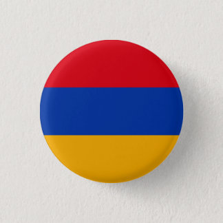 Patriotic Armenia Flag 3 Cm Round Badge