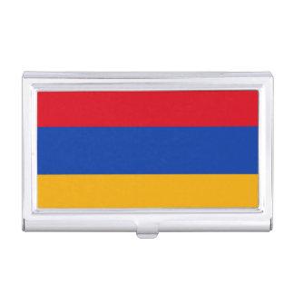 Patriotic Armenia Flag Business Card Holder