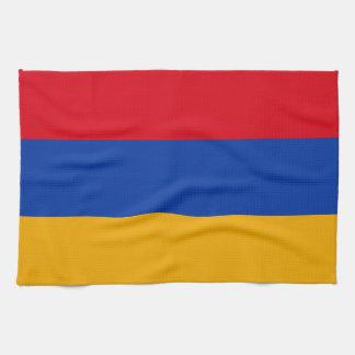 Patriotic Armenia Flag Tea Towel