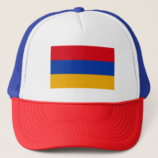 Patriotic Armenia Flag Trucker Hat