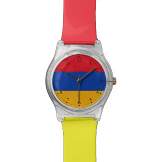Patriotic Armenia Flag Watch