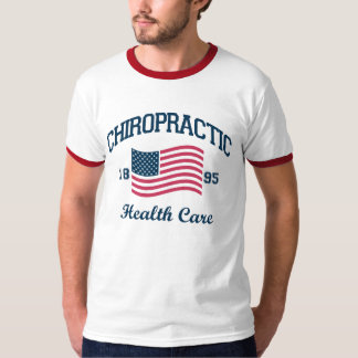 Patriotic Athletic Chiropractic T-Shirt