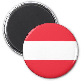 Patriotic Austrian Flag Magnet