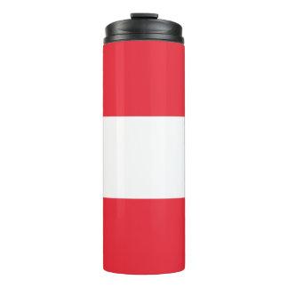 Patriotic Austrian Flag Thermal Tumbler