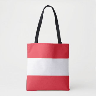 Patriotic Austrian Flag Tote Bag