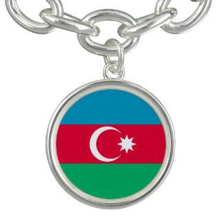 Patriotic Azerbaijan Flag