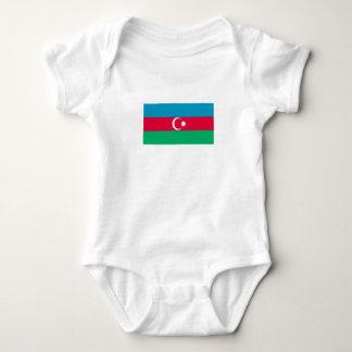 Patriotic Azerbaijan Flag Baby Bodysuit