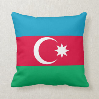 Patriotic Azerbaijan Flag Cushion
