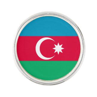 Patriotic Azerbaijan Flag Lapel Pin