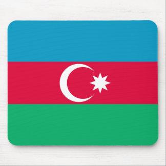 Patriotic Azerbaijan Flag Mouse Pad