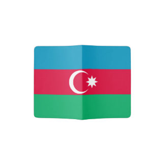 Patriotic Azerbaijan Flag Passport Holder