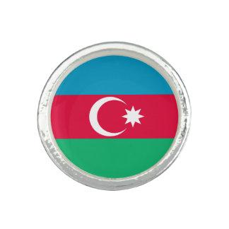 Patriotic Azerbaijan Flag Ring