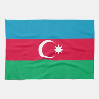 Patriotic Azerbaijan Flag Tea Towel