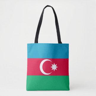 Patriotic Azerbaijan Flag Tote Bag