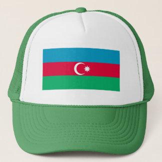 Patriotic Azerbaijan Flag Trucker Hat