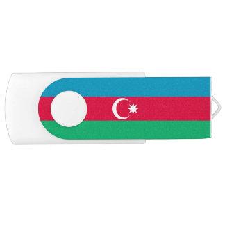 Patriotic Azerbaijan Flag USB Flash Drive