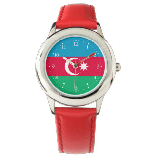 Patriotic Azerbaijan Flag Watch