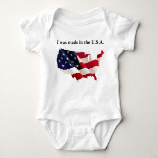 Patriotic Baby Jersey Bodysuit