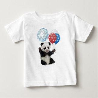 PATRIOTIC BABY PANDA BABY T-Shirt