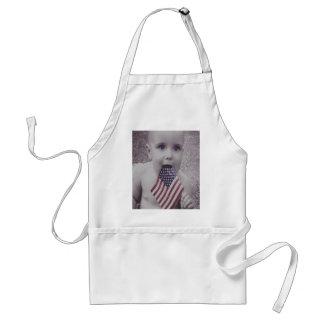 Patriotic Baby Standard Apron