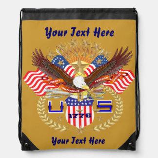 Patriotic Backpack? Beach Bag? Runner? Drawstring Bags