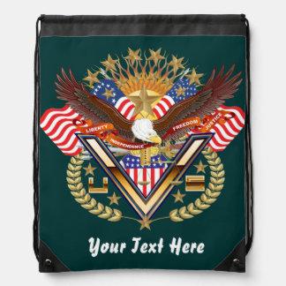 Patriotic Backpack? Beach Bag? Runner? Drawstring Bag