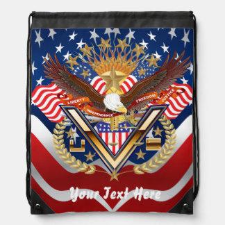 Patriotic Backpack? Beach Bag? Runner? Backpacks