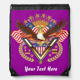 Patriotic Backpack? Beach Bag? Runner? Rucksack