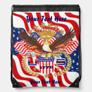 Patriotic Backpack? Beach Bag? Runner? Rucksacks