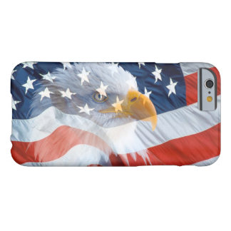 Patriotic Bald Eagle American Flag Barely There iPhone 6 Case