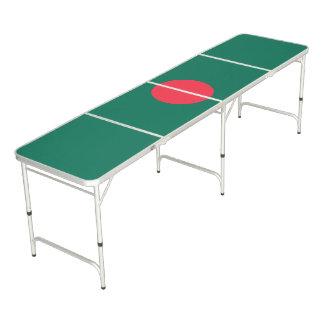 Patriotic Bangladeshi Flag Beer Pong Table