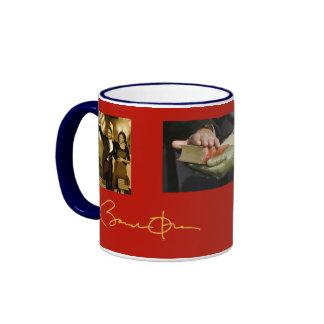 Patriotic Barack Obama Ringer Mug