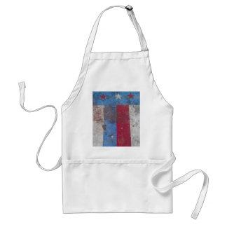 Patriotic BBQ apron
