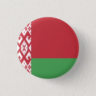 Patriotic Belarusian Flag 3 Cm Round Badge