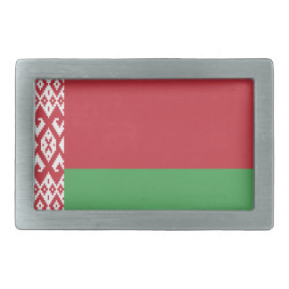 Patriotic Belarusian Flag Belt Buckles
